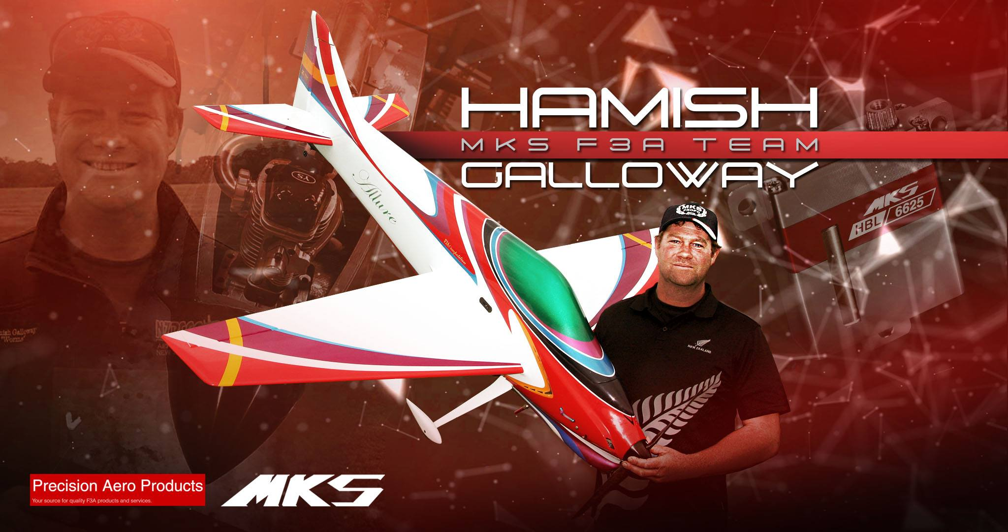 Hamish Galloway joins the MKS F3A Team!
